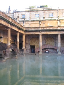 The Baths. Do not drink.