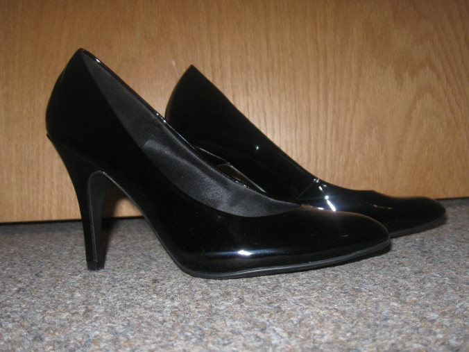 $20 patent heels from Payless!