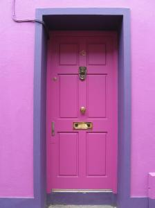 I've been taking pictures of doors, and this is one of my favorites so far.